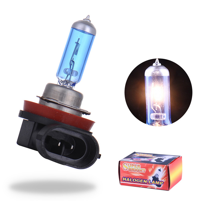 2pcs led car lights exterior h8 35w halogen lamp light Auto Led Bulb 12V lights super white free shipping  high quality 12v gy6 35 led lights gy6 35 lights led g6 35 bulb g6 led free shipping 2pcs lot