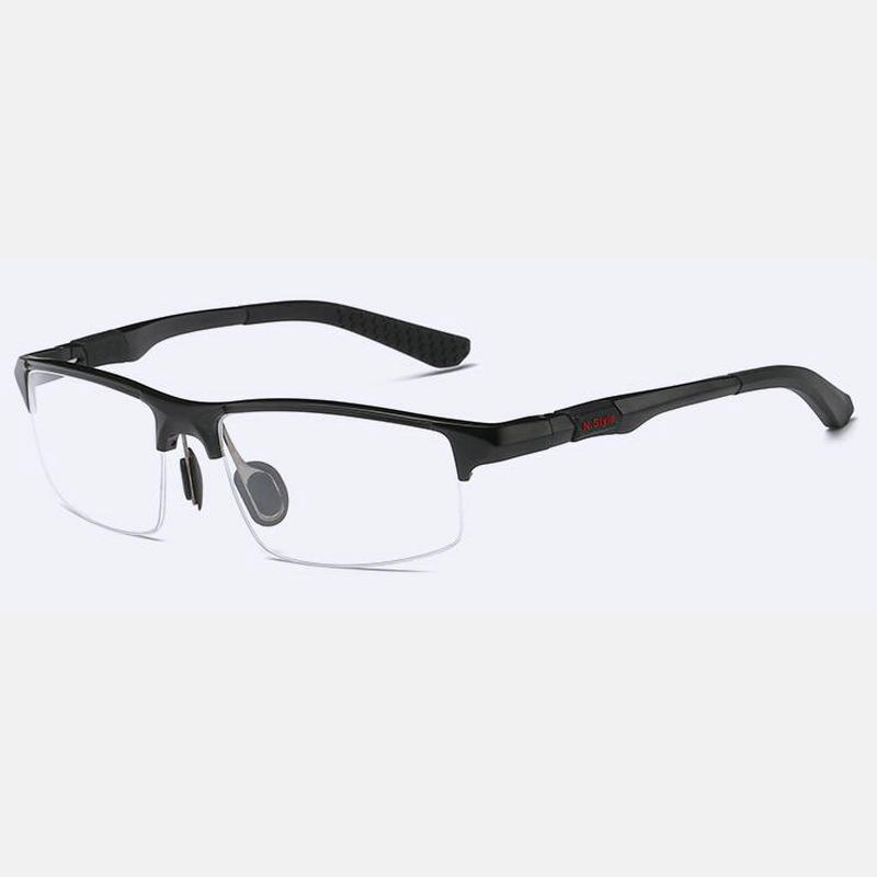 Image 2 - 2019 NEW Aluminum Magnesium Sports Style Progressive Reading Glasses Commercial Affairs Glasses Photochromic Reading Glasses NX-in Men's Reading Glasses from Apparel Accessories