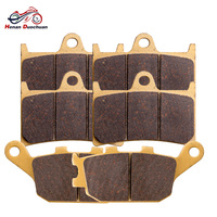 3pair Motorcycle Front Rear Brake Pads For YAMAHA FZ6 Fazer S2 YZF R6 FZ1 Fazer FZ8 YZF R1/R1SP #d