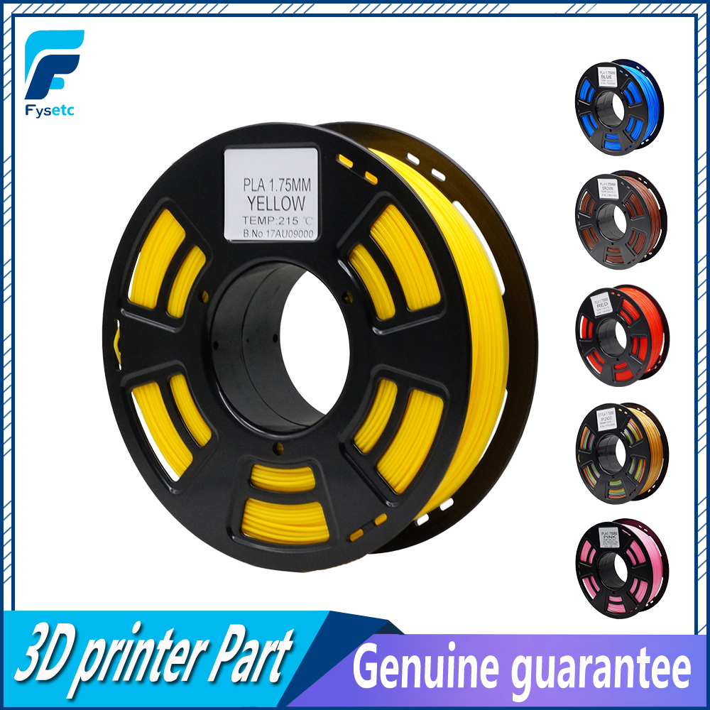 PLA Filament 1.75mm 1kg/2.2lbs Rubber Color Consumables 1.75 pla Plastic Filament Materials For 3d Printer/3d Pen new pla 3d printer filament consumables 3d print pen supplies 1 75mm 1kg metal filament upgraded quality for 3d printer