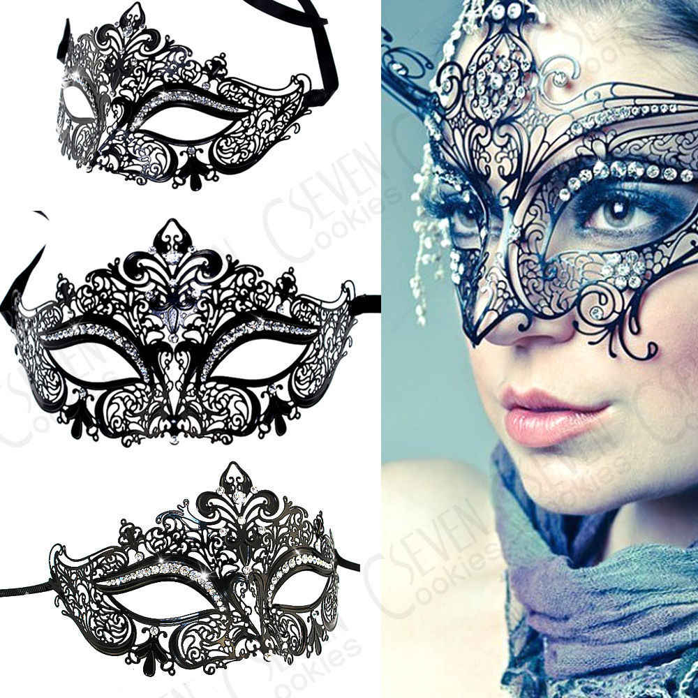 Filigree Metal Luxury Cat Mask in 4 colours  Masquerade //Party//Ball//Mardi Gras