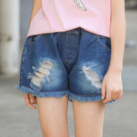 Ripped Jeans Shorts For Girls 5 6 7 8 9 10 11 12 13 14 15 Years 2019 Summer Toddler Girl Clothing New Fashion Kids Teens Clothes