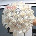 Europa y américa novia con flores boda ornamento de la flor cinta de la perla Asia Chocolate de la boda de diamante PH23
