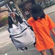 купить 2019 Nylon Backpack Women Casual Backpacks Ladies High Capacity Back To School Bag Teenage Girls Travel Students Mochila Bolsa по цене 1321.51 рублей