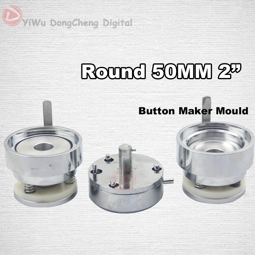 [Factory direct sale]fit for 2(50mm ) New Die mold for button press machine DCW-50 [factory direct sale]fit for 2 50mm new die mold for button press machine dcw 50