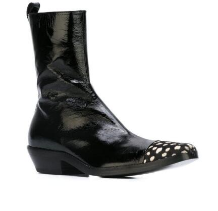 Martin boot man s new arrival knight boots men real leather boots ankle shoes high top zip up men cowboy boots