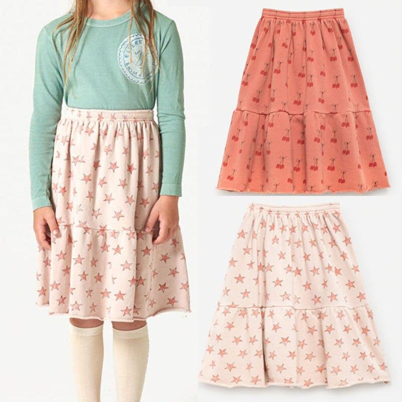 BBK discount! !! TAO kids Long dress 100% cotton Bohemian Maxi skirt High Waist Tutu Casual baby girls princess dress bohemian high waist floral print skirt for women