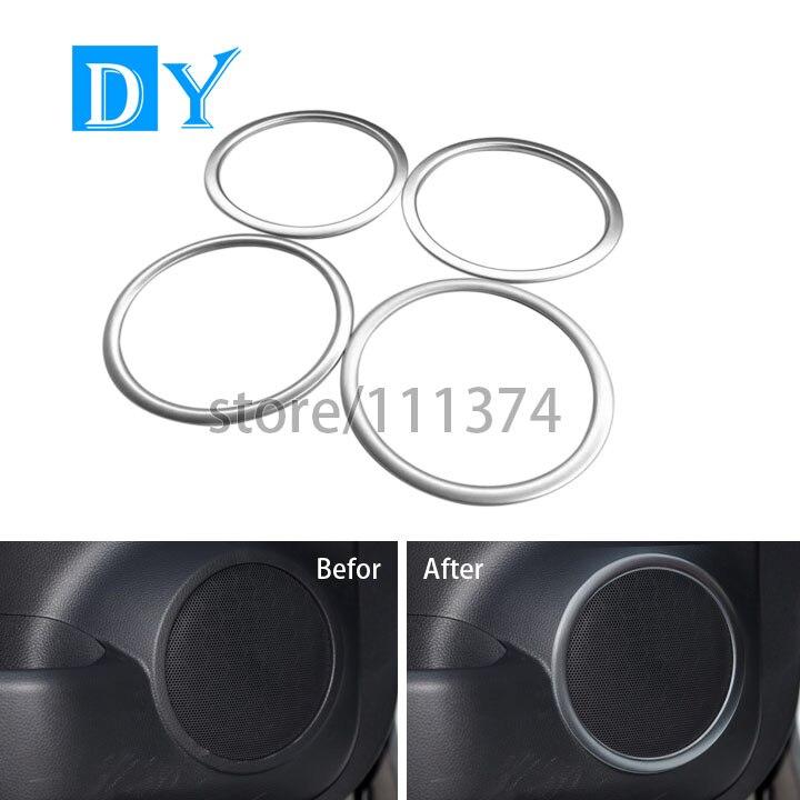 u3010chrome matte surface interior car car door sound speaker