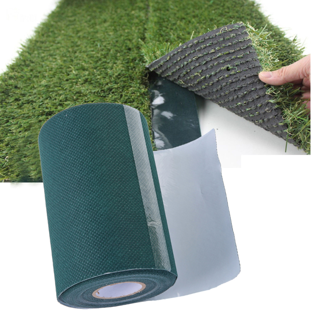 10mx15cm Turf Tape Artificial Synthetic Grass Self Adhesive Tape Lawn Carpet Tape 2 colors