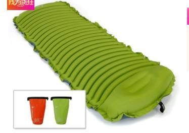 Protection de l'environnement en plein Air lit voiture auto-conduite tente gonflable étanche à l'humidité matelas en forme de U Massage matelas de couchage