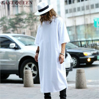 Extra long tee shirts for men mens extra long t shirts 2018 new arrival extra long t shirts for men hiphop clothes AA872