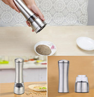 Hot Selling Stainless Steel Manual Salt Spice Pepper Corn Pea Bean Coffee Mill Grinder muller cutter for cooking kitchen gadget