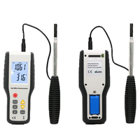 HT9829 High Sensitivity Digital Hot Wire Anemometer Wind Speed Air Velocity Temperature Anemometro Measuring Instrument