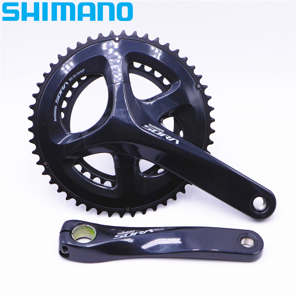 SHIMANO SORA R3000 Vélo De Route Pédalier 50-34 T FC-R3000 Pour 9 Vitesse