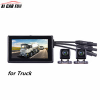 X1V 1080P FHD 4CH Camera DVR 360 Panorama System For Vehicle Heavy Truck Video Recorder With