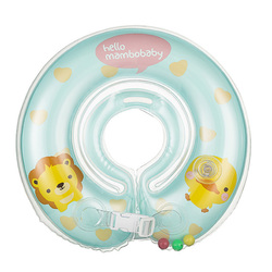 Baby neck float swimming newborn baby swimming neck ring with pump gift mattress cartoon pool swim.jpg 250x250