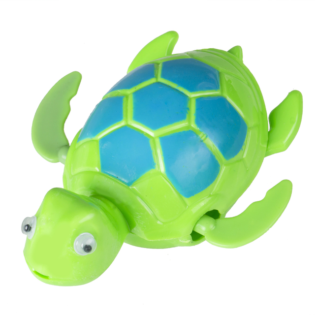 New Swimming Wind Up Turtle Pool Animal Floating Toys For Baby Kids Bath Time Electornic Pets Toys