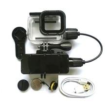 5200mAh עמיד למים כוח בנק סוללה מטען עמיד למים מקרה עבור GoPro Hero 87643 פעולה מצלמה Gopro5 SJ8/6 טעינה פגז/תיבה