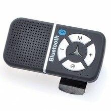Multi-función de altavoz Bluetooth Visera Manos Libres A2DP kit Inalámbrico para coche con cargador de coche