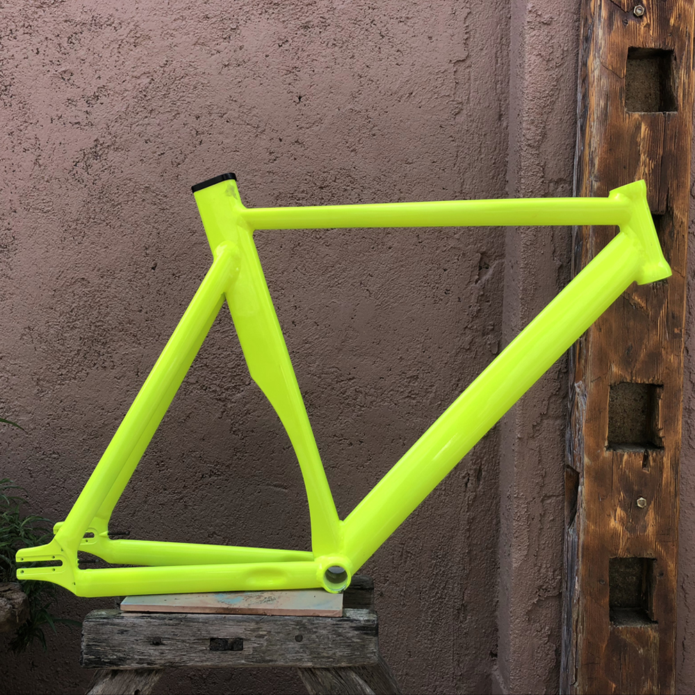 fixed gear bike frame 58cm matte black Bike frame Fixie Bicycle Frame Aluminum Alloy frame bellamica высокие кеды и кроссовки