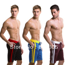 Wholesale – Wangjiang Hot Men Shorts Half Middle long Household Shorts Fitness Quick Dry Sweat Mesh fabric MIX 5pcs