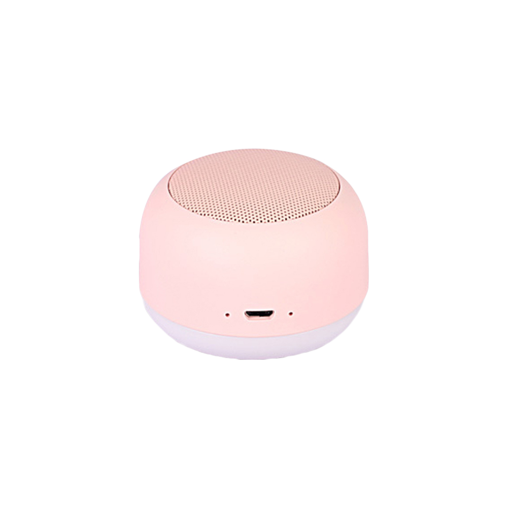 Mini USB Bluetooth Wireless Speakers Night Light Portable Magnetic  USB Subwoofer bluetooth Speakers stereo audio music player(China)