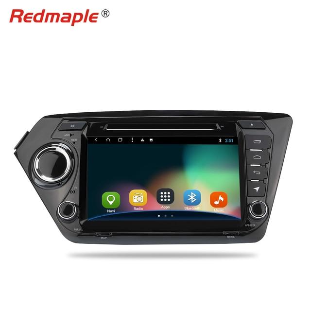 "8"" Android 8.1 Car Radio GPS Navigation DVD Multimedia Player For Kia Rio K2 2010 2011 2012 2013 2014 2015 Auto Stereo Headunit"