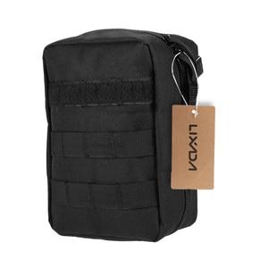 Image 1 - Lixada First Aid Kit Leere Tasche Reise Notfall Überleben Pouch Medical Lagerung Tasche Medizin Paket Pack Reisen Erste Hilfe Tasche
