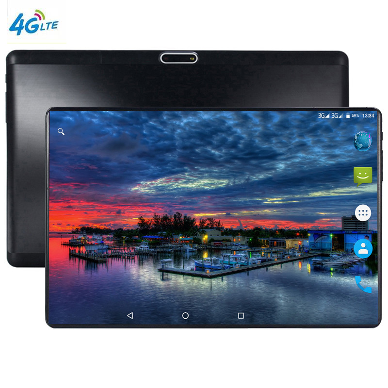 XD Plus Android 4G LTE 10.1 tablette écran mutlti tactile Android 9.0 Octa Core Ram 6 GB ROM 64 GB caméra 8MP Wifi 10 pouces tablette pc