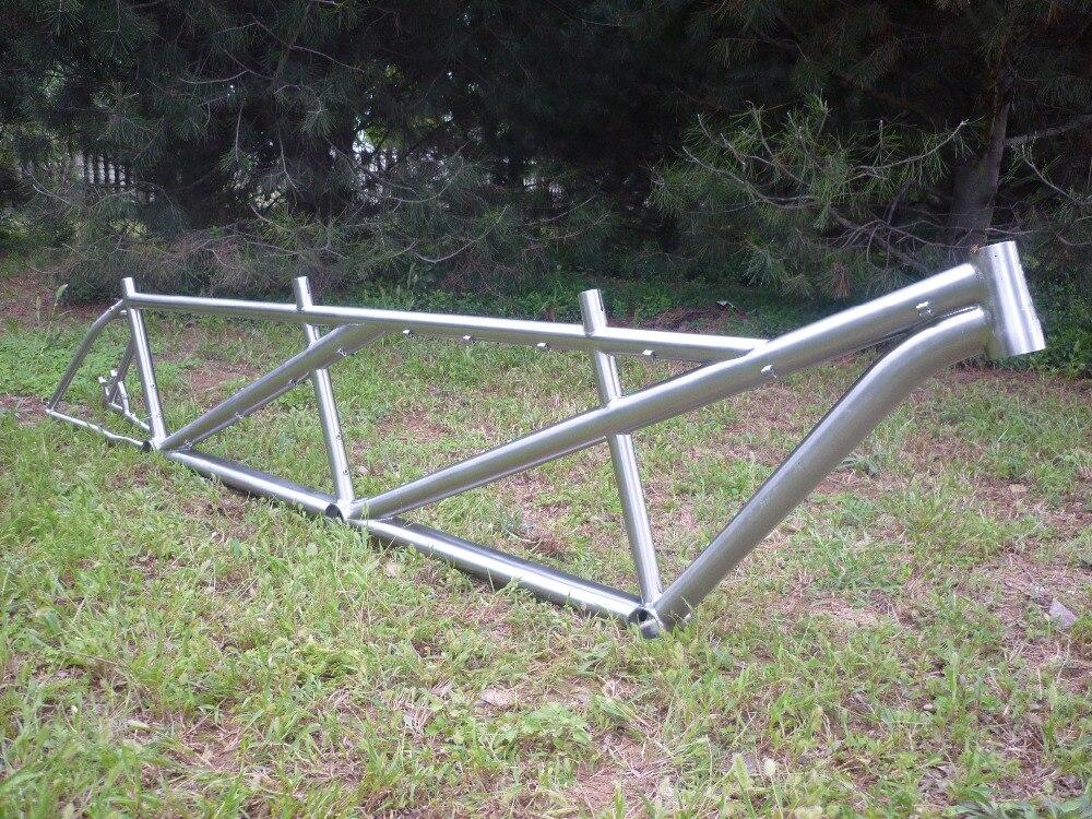 Titanium Triple Bike Frame