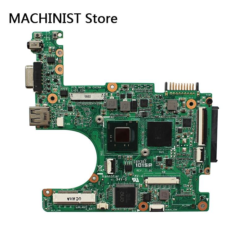 Original For ASUS 1015P laptop notebook motherboard REV1.3G 1.0 DDR3 CPU N550