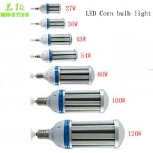 LED Corn Bulb Lamp 36W 45W 54W 80W 100W 120W E26 E27 E39 E40 Factories Warehouse Parking Lot lighting highway bombilla 85-277V