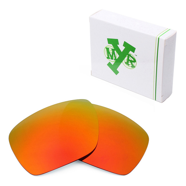 MRY POLARIZED Replacement Lenses for Oakley Dispatch 1 Sunglasses Fire Red