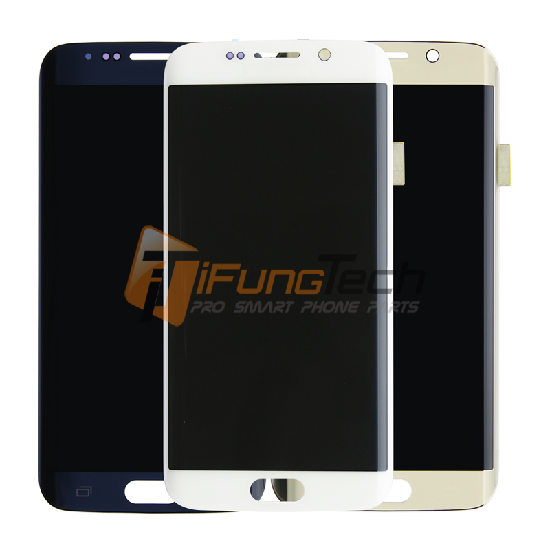 100% Original Test Good For Samsung galaxy s6 edge lcd display touch screen digitizer G925V/G925i lcd screen with Free Shipping original 100% test lcd display touch screen digitizer assembly for samsung galaxy note edge n915 white with tempered glass tools