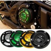 MotorcycleCNC Aluminium Right Side Engine Protective Protect Cover for 2015 2017 Kawasaki Vulcan S VN650 VN 650 EN650 2016