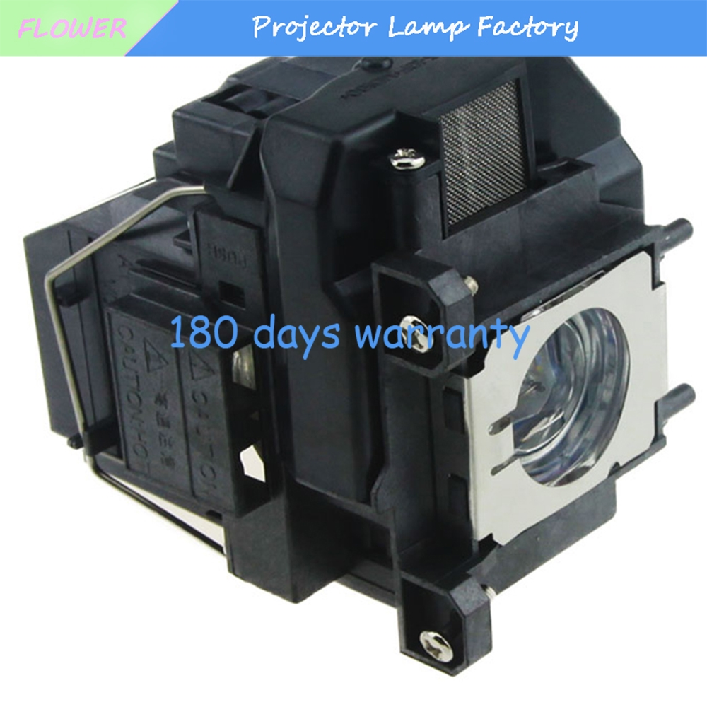 Projector Bare Lamp with housing ELPLP67 For EPSON EB-X02 EB-S02 EB-W02 EB-W12 EB-X12 S12 X11 X14  EX3210 EX5210 EX7210 aliexpress hot sell elplp76 v13h010l76 projector lamp with housing eb g6350 eb g6450wu eb g6550wu eb g6650wu eb g6750 etc
