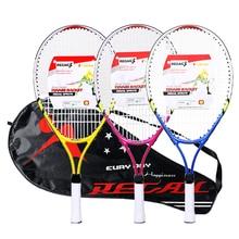 REGAIL 1 шт. только Подростковая Теннисная ракетка рама из алюминиевого сплава с прочной нейлоновой проволокой идеальная теннисная тренировка для детей