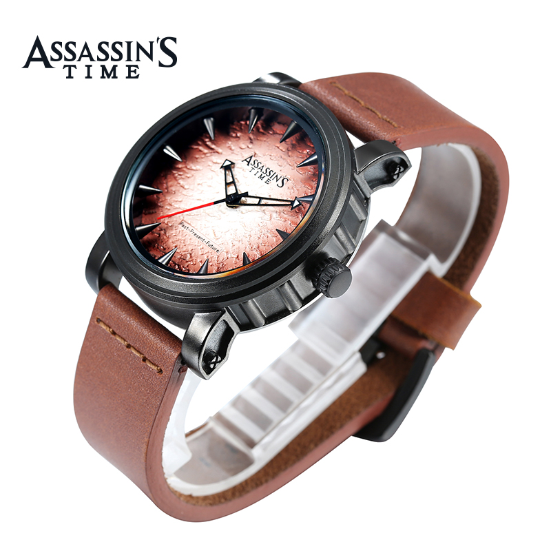 Assassin's Time Fashion Sport Watch Meeste Quartz Watch Luksuslik - Meeste käekellad - Foto 4