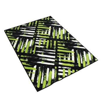 2017 Direct Selling Hot Sale Rugs Stripe Carpets Alfombras Tapis Style Sofa Tea Table Carpet  Bedroom Tatami Home Green Mat