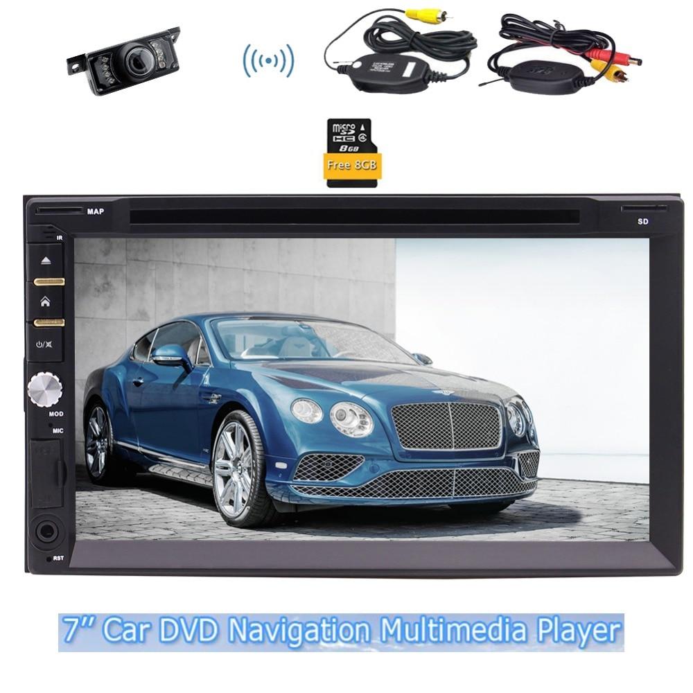 Eincar GPS Стерео FM AM радио GPS навигатор SWC usd SD Панель красивые UI Дизайн удаленного Управление карта + Беспроводной камеры