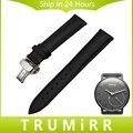18mm Pulseira De Couro Genuíno para Withings Activite/Aço/pop smart watch banda de pulso pulseira de borboleta fivela de cinto preto marrom
