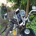 Мотоцикл Велосипед Телефон Владельца Мобильного Телефона Стенд поддержка iPhone 5 5S для huawei honor 7 P8 P9 lite GPS Велосипед телефон держатель