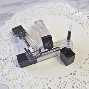 Image 4 - Lápiz labial vacío líquido para maquillaje, tubo de brillo de labios transparente de alta calidad, envase de embalaje, 20 unids/lote, 7ml
