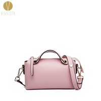 REAL GENUINE LEATHER BOSTON SHOULDER BAG Women S Famous Brand Fashion Luggage Bowling Bowler Tote Crossbody