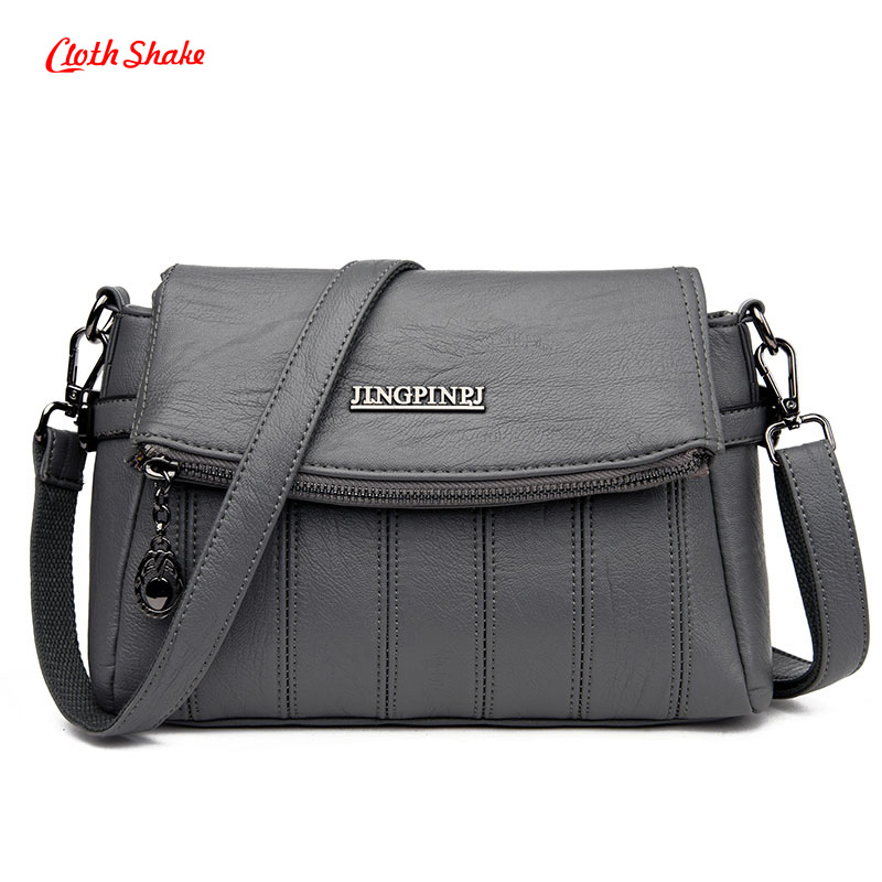 Cloth Shake brand Summer New design Women tote Fashion Solid Women handbag high quality women messenger Shoulder Crossbody bags