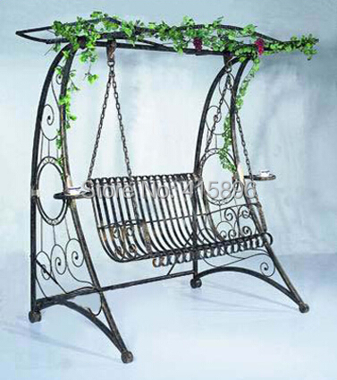 Charmant China Wrought Iron Garden Swing Design