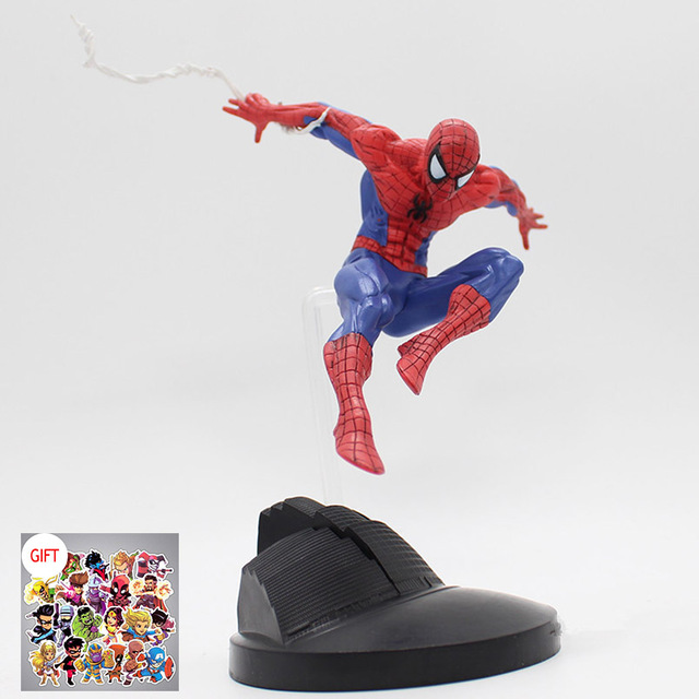 15cm Super Hero Spiderman Series PVC Action Figure Collectible Model Spider Man Toys For Boy Kids As Christmas Gifts BN028