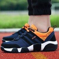 Sneakers men mesh breathable big size 5.5 13.5 fashion platform shoes non slip canvas tennis shoes men luxury brand