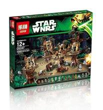 2016 LEPIN 05047 1990Pcs Star Wars Ewok Village Model Building Kits Minifigure Blocks Bricks Compatible Children
