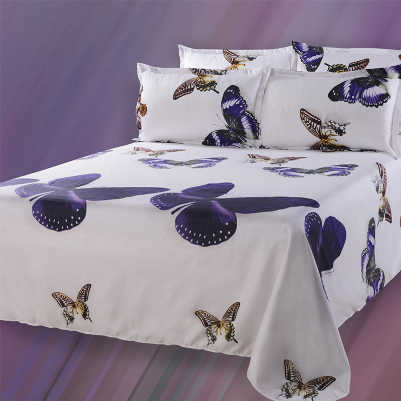 3D Animal Bedding Sets Butterfly Duvet Cover 3D Bedding Butterfly Bed Sheets  Animal Print Bedspreads Queen Size 4pcs Home 3D Bed In Bedding Sets From  Home ...